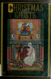 Cover of: Christmas ghosts |