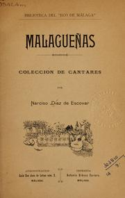Cover of: Malagueñas