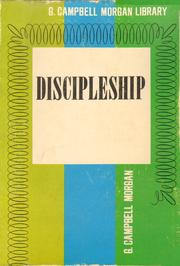 Cover of: Discipleship (G. Campbell Morgan library)