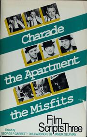 Cover of: Film scripts