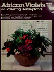 Cover of: African violets and other flowering houseplants