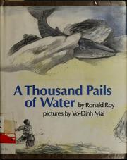 Cover of: A thousand pails of water