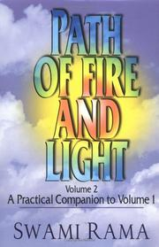 Cover of: Path of fire and light | Rama Swami