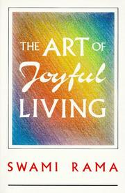 Cover of: art of joyful living | Rama Swami