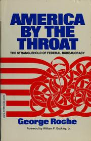 Cover of: America by the throat