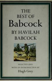Cover of: The best of Babcock