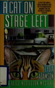 Cover of: A cat on stage left