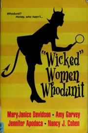 "Cover of: ""Wicked"" women whodunit"