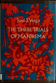 Cover of: The three trials of Manirema