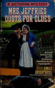 Cover of: Mrs. Jeffries dusts for clues