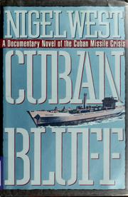 Cover of: Cuban bluff: a novel