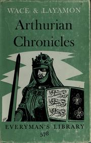 Cover of: Arthurian chronicles | Wace