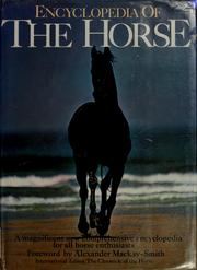 Cover of: Encyclopedia of the horse | Elwyn Hartley Edwards