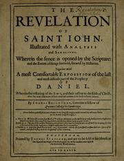 Cover of: The Revelation of Saint Iohn | Thomas Brightman