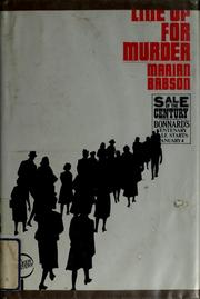 Cover of: Line up for murder