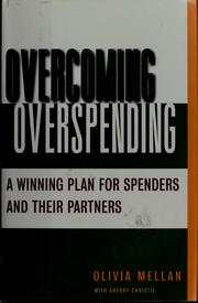Cover of: Overcoming overspending