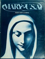 Cover of: Mary-U.S.A. | Anna Wirtz Domas