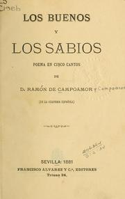 Cover of: Los buenos y los sabios