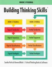 Cover of: Building Thinking Skills Book 3, Figural/Student Text | Howard Black