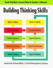 Cover of: Building Thinking Skills | Sandra Parks
