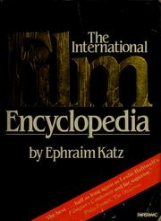 Cover of: The international film encyclopedia