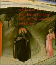 Cover of: Selection of Eary Italian Paintings
