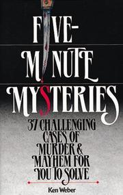 Cover of: 5 minute mysteries
