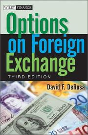 Options on foreign exchange by David F. DeRosa
