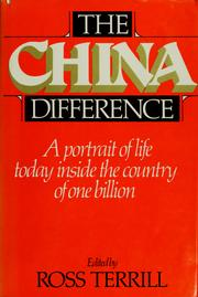 Cover of: The China difference