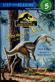 Cover of: Dinosaurs alive!