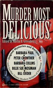 Cover of: Murder most delicious |