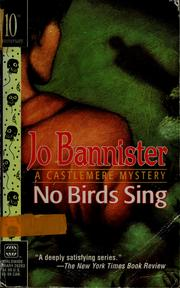 Cover of: No birds sing