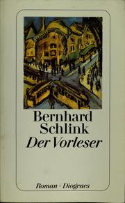Cover of: Der Vorleser