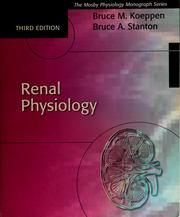Cover of: Renal physiology