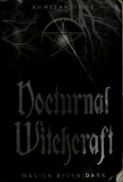 Cover of: Nocturnal witchcraft