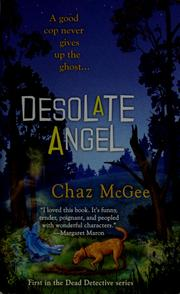 Cover of: Desolate angel | Chaz McGee