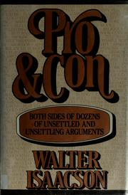 Cover of: Pro and con