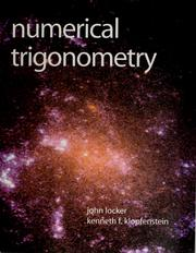 Cover of: Numerical trigonometry