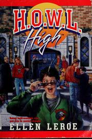 Cover of: H.O.W.L High | Ellen Leroe