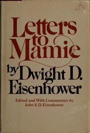 Cover of: Letters to Mamie
