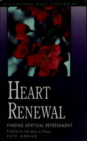 Cover of: Heart renewal