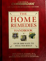 Cover of: The home remedies handbook | John H. Renner
