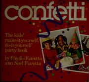 Cover of: Confetti