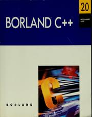 Borland C++ by Borland International