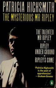 Cover of: The mysterious Mr. Ripley by Patricia Highsmith