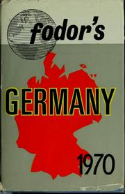 Cover of: Fodor's Germany 1970