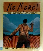 Cover of: No More!