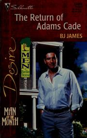 Cover of: The return of Adams Cade