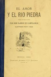 Cover of: El amor y el rio Piedra