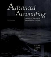 Cover of: Advanced accounting | Paul M. Fischer